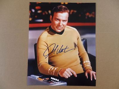 William Shatner Signed  Autographed Photo  Final Frontier