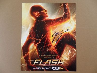 """Grant Gustin Signed /Autographed Photo """"Flash"""""""