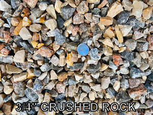 Landscape Rock - Crushed Rock - Base Gravel - River Rock - Sand