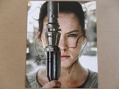 Daisy Ridley Signed Autographed Photo Jedi  - $6.56