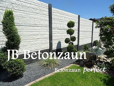 Betonzaun Sichtschutz Sichtschutzzäune Zaun Mauersteine Gartenzäune Betonzäune