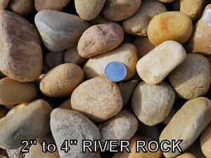 Crushed Rock - Natural Round Rock - Base Gravel - Sand & More!