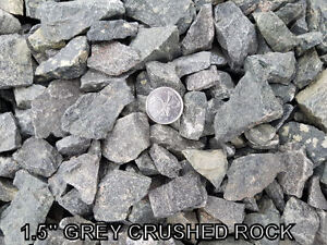Crushed Rock - Gravel - Crusher Dust - Sand - River Rock & More!