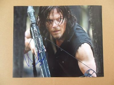"""Norman Reedus Signed /Autographed Photo """"Walking Dead"""""""