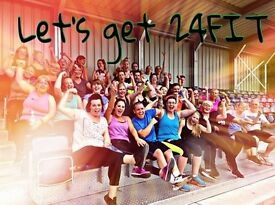 FREE 4 week 24FITCamp Challenge - TASTER SESSION RUNNING NOW!