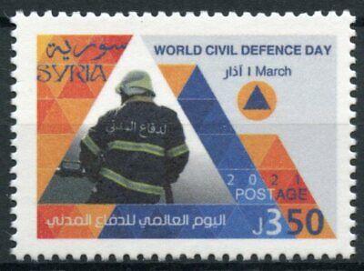 Syria 2021 MNH Stamps World Civil Defence Day Emergency Services 1v Set