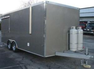2017 25' X 8.25' Enclosed Concession Trailer - NEW NEW -