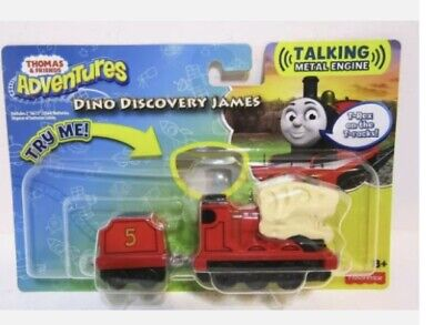 NEW THOMAS & FRIENDS ADVENTURES DINO QUEST JAMES TALKING DIE CAST TRAIN 2018