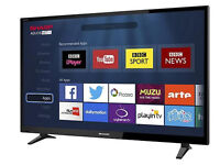 Sharp Smart HD 49 Inch LED TV - LC-49CFG6001K- with Freeview HD - Brand New & Sealed