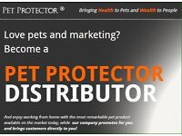 Love pets and marketing? Then beome a Pet Protector distributor!