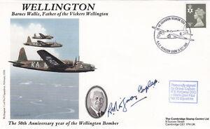 Wellington-Cover-Signed-R-E-Ridgeway-DSO-Wellingtons-Pilot