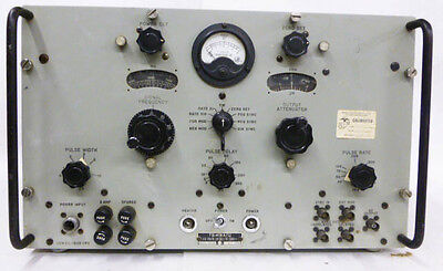Ts-419au Military Rf Signal Generator 900-2100 Mhz Cw Pulse Output