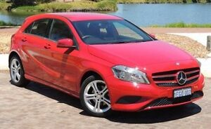 2013 Mercedes-Benz A180 W176 D-CT Red 7 Speed Sports Automatic Dual Clutch Hatchback Glendalough Stirling Area Preview