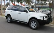 2011 Mitsubishi Challenger PB MY11 LS (5 Seat) (4x4) White 5 Speed Manual Wagon Klemzig Port Adelaide Area Preview