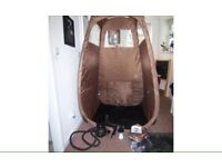 Maxi Mist Lite tanning spray gun + tent