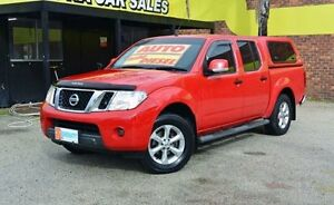 2012 Nissan Navara D40 S6 MY12 ST Flame Red 5 Speed Automatic 4D UTILITY Upper Ferntree Gully Knox Area Preview