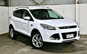 2013 Ford Kuga TF Trend AWD White 6 Speed Sports Automatic Wagon Thomastown Whittlesea Area Preview