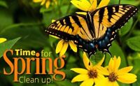 Spring clean up now available