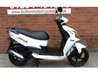 Sym jet 125 scooter moped 62 plate low mileage