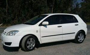 2006 Toyota Corolla ZZE122R 5Y Ascent White 4 Speed Automatic Hatchback Stapylton Gold Coast North Preview