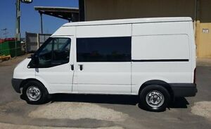 2010 Ford Transit VM MY08 Mid (MWB) White 6 Speed Manual Van Burleigh Heads Gold Coast South Preview