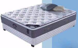 EURO TOP POCKET COIL MATTRESS SALE$349