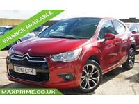 2011 61 CITROEN DS4 1.6 HDI DSTYLE 110 BHP DIESEL FULL HISTORY + JUST SERVICED