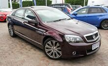2013 Holden Caprice WN MY14 V Red 6 Speed Sports Automatic Sedan Embleton Bayswater Area Preview