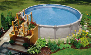 Above Ground Pools on CLEARANCE!