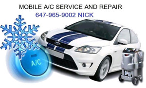 A/C SYSTEM RECHARGE AND REPAIR