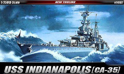 Academy Model kit 1/350 USS CA-35 Indianapolis #14107
