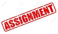 We provide assignment help service with good gradesA+