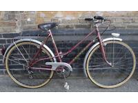 Vintage dutch bike PEUGEOT size 19in - 3 speed, good mint condition, steel frame, super comfy ride
