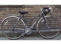 Vintage racing ladies bike DAWES hand built frame size 20in - 5 speed , comfy saddle , serviced