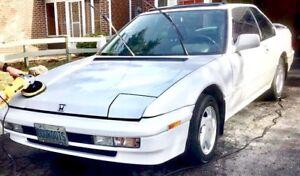 Pristine 1991 Honda Prelude Si, 4WS, alb