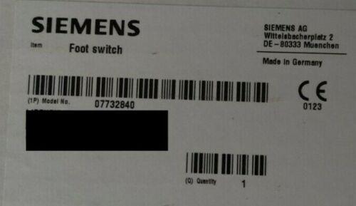 Siemens Xray Foot Switch 7732840