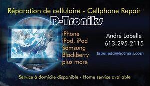Réparation de téléphone cellulaire / Cellular phone repair Gatineau Ottawa / Gatineau Area image 1
