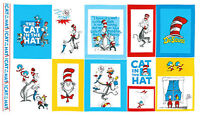 Fabric...Cat in the Hat (2 Different Dr. Seuss Fabrics)