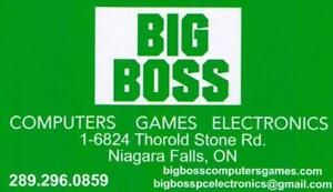 BIG BOSS VIDEO GAMES ALL GAMES 5.99 of  4 for 20