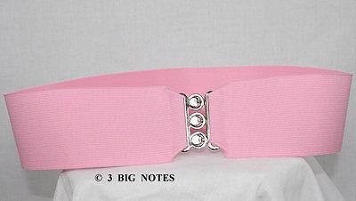 PINK Elastic Cinch Belt for Poodle Skirt _ 3