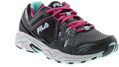 Fila Vitality 9 Womens Trail Shoes Sneakers Castlerock-Black Aruba Blue