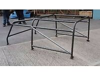 Land Rover defender 90 full roll cage brand new black powder coated