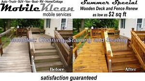 Mobile Klean .. mobile fence and deck cleaning services Peterborough Peterborough Area image 2