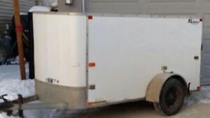 4x8 Cargo Utility Trailer with Accessories