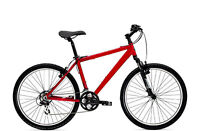 red NAKAMURA Japanese Mountain Bike, 26wheels,good conditions
