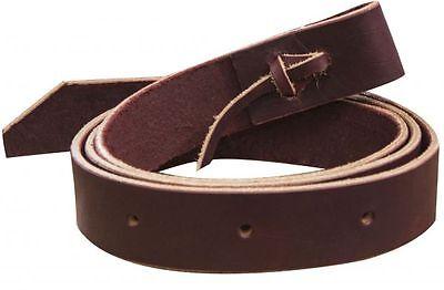 "Showman Premium Leather Latigo Cinch Tie Saddle Strap 6' x 1.75""  Clearance"