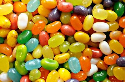 TROPICAL MIX - Jelly Belly Candy Jelly Beans - ASSORTED - 1/4 LB BAG - BULK