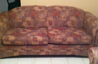 2 pieces de salon (sofa lit) - 2 piece Sofa set (sofa bed)