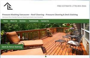 Eco Friendly Pressure Washing & Home Care Solutions