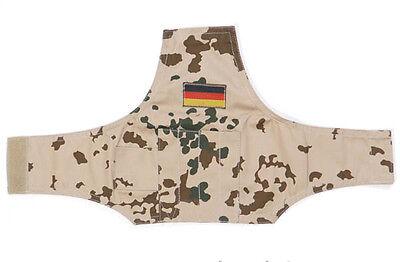 BW Armbüro wüstentarn tropentarn mit Klettverschluss und Taschen + Flagge